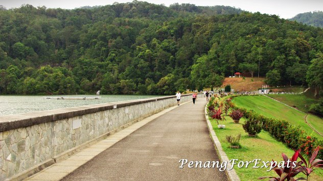 Things to do with kids in Penang - Air Itam Dam Penang