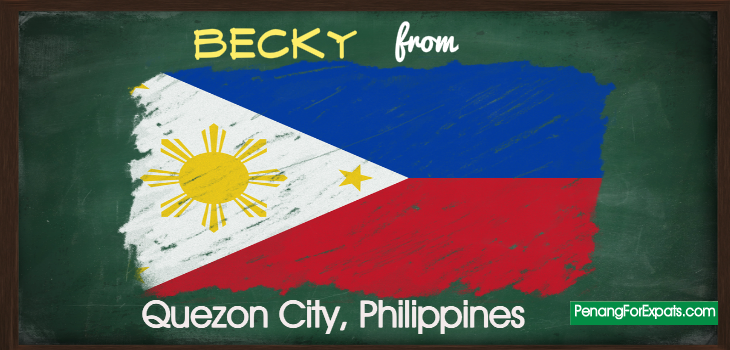 Becky from Quezon City, Philippines