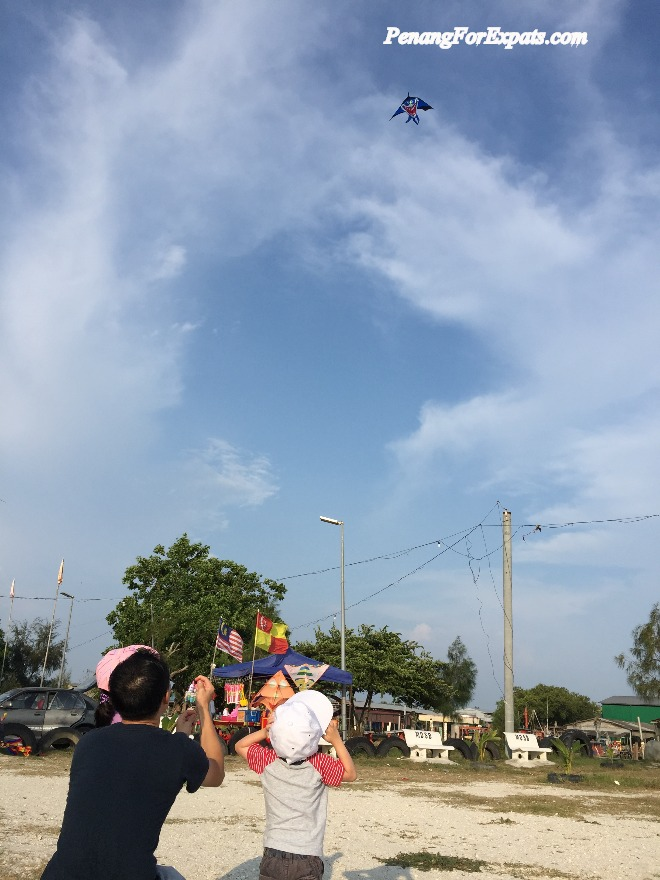 Sekinchan Kite Flying