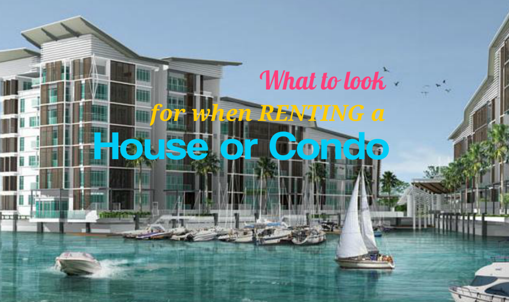 What to Look for When Renting a House or Condo